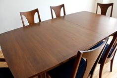 Broyhill Brasilia Mid Century Modern Dining Set in 3726 West Montrose Avenue, Chicago, IL 60618, USA ~ Apartment Therapy Classifieds