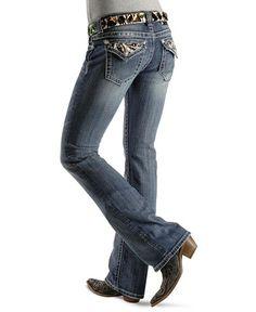 Miss Me Jeans #Miss_Me_Jeans #fashion #blue_jeans #love Miss Me Jeans - Studded Zebra Pattern Boot Cut