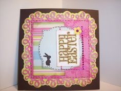 Card made with Easter and Elegant Edges