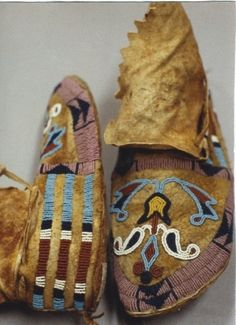 Blackfoot mocs from the Glenbow Institute collections n.d.