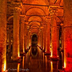 "yerebatan sarayi istanbul   ""Sunken Palace"" cistern - Inferno"