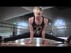 tutorial how to do a chin stand acro/contortion