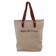 Now available Alpha Chi Omega B... Shop http://manddsororitygifts.com/products/alpha-chi-omega-bag-brown-leather?utm_campaign=social_autopilot&utm_source=pin&utm_medium=pin