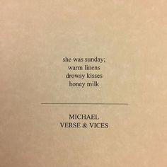 @verseandvices  #poetry