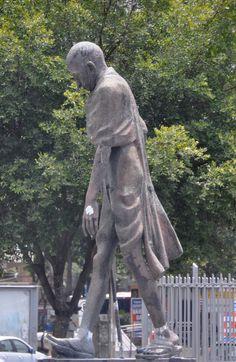 Gandhi statue, Rio de Janeiro, Brasil