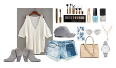 """Untitled #7"" by alicia-nanlohy on Polyvore featuring Sans Souci, Sonix, Chicnova Fashion, L'Oréal Paris, Michael Kors, Forever 21, Topshop, rag & bone and Lane Bryant"