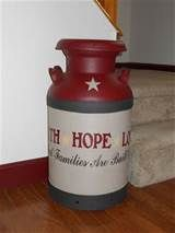 country milk cans - Yahoo Image Search Results