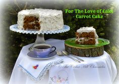 For the Love of Cake - Carrot Cake. Amish Mennonite Carrot Cake, a family favorite at home and for weddings   The Cedar Hill Chronicles