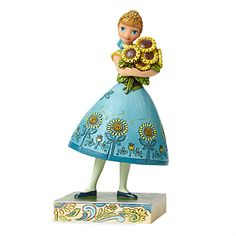 Anna Figure by Jim Shore - Frozen Fever | Disney Store