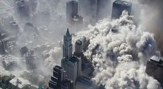Photos: Timeline of the September 11 attacksThick smoke rises over the New York City skyline after the World Trade Center towers were downed by terrorists on Se World Trade Center, Edward Snowden, New York Times, 11 September 2001, Nine Eleven, Police Activities, Berlin Wall, Tours, Lower Manhattan