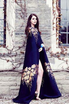 Lana by Chris Nicholls for 'Fashion Magazine' (2014)