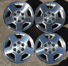8 best mau1271 wheels images on pinterest wheels chevrolet set of four wheels rims 17 fat fives chevrolet silverado tahoe 04 05 06 07 5196 fandeluxe Choice Image