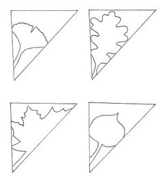 Kirigami leaves amazing circle patterns