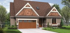 Plan 1221CC The Newmarket                           Front Rendering