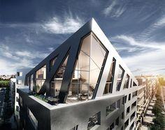 Libeskind'in Almanya'daki İlk Konut Projesi Berlin'de