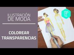 ¿Qué materiales se pueden usar para ilustración de moda? - YouTube
