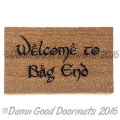 Bilbo Bienvenue les trucs de geek sac fin par DamnGoodDoormats