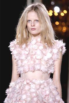 Hanne Gaby Odiele at Giambattista Valli Haute Couture spring 2013