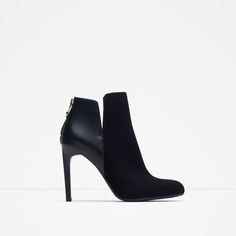 14d18574899 NIB Zara 2015 Booties NEw in box Zara black booties from fall collection  Sold out online. Heel height ❌No trades ❌ Zara Shoes Ankle Boots   Booties