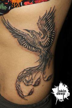 phoenix tattoo -- powerful