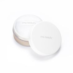 """Keeping true to RMS Beauty's """"less is more"""" aesthetic these ultra-fine, light reflective powders contain a hint of color that helps minimize the appearance of pores, softens the skin and absorbs oil."""