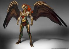 Concept art of Hawkgirl Injustice: Gods Among Us by Justin Murray Dc Comics, Anime Comics, Character Concept, Concept Art, Character Design, Injustice 2 Comic, Marvel Dc, Killer Frost, Hawkgirl