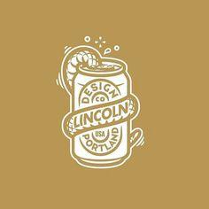 Join us tonight for the X Lincoln X Drink and Draw. Typography Logo, Art Logo, Logo Branding, Branding Design, Graph Design, Badge Design, Tolle Logos, Hand Drawn Logo, Professional Logo Design