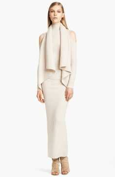 Donna Karan Collection 'First Layer' Cold Shoulder Cashmere Blend Turtleneck Donna Karan, How To Have Style, My Style, High Fashion, Winter Fashion, Womens Fashion, Image Fashion, Swagg, Passion For Fashion
