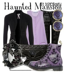 Haunted Mansion by leslieakay on Polyvore featuring polyvore, fashion, style, Lipsy, See by Chloé, Forever New, Dr. Martens, Friis & Company, Mawi, Betsey Johnson, Disney and disney