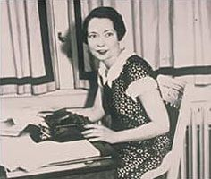 """Margaret Mitchell, Novelist, """"Gone With the Wind,"""" Died Aug 16 1949, automobile accident. Born Nov 8 1900, Atlanta, GA. Remains: Buried Oakland Cementary, Atlanta, GA. University: Smith College (1922)."""