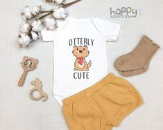 Newborn Kids Organic Coverall Because Otters are Freaking Awesome Baby Clothes