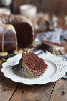 Baileys Schoko oder Eierlikör Schoko Gugelhupf Kuchen - Baileys Chocolate Bundt Cake (20)