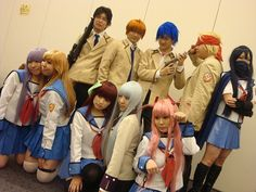 『Angel Beats』 Cosplay Group by moe~ twinstyle, via Flickr