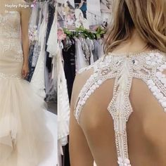 """71 curtidas, 4 comentários - Rhylan Lang Bridal Omaha (@rhylanlangbridal) no Instagram: """"When @misshayleypaige throws a sneak peek on snapchat you work on your screen shot game 👍🏻…"""""""