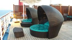 Serenity Deck on Carnival Victory