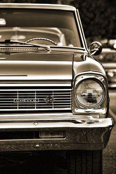 1966 Chevy II SS - by Gordon Dean II #ClassicCars #Chevy #CTins
