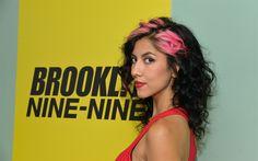 Download wallpapers Brooklyn Nine-Nine, 2017, TV series, comedy, Stephanie Beatriz, Michael Schur, Rosa Diaz