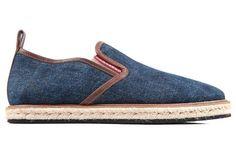 Dsquared men's espadrilles slip on shoes denim blue Cod:S12VA101V10130