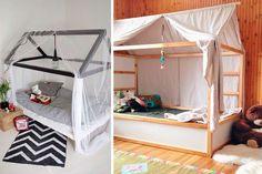 | La cama Kura en la decoración de habitaciones infantiles                                                                                                                                                      Más