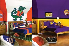 Http Www Themedbedroomideas Com Los Angeles Lakers Bedding