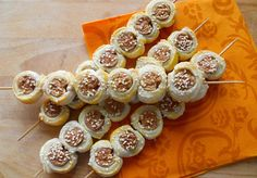 Mini Cupcakes, Finger Foods, Ham, Catering, Healthy Recipes, Healthy Meals, Food And Drink, Snacks, Chocolate