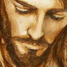 Jesus, o Cristo Image Jesus, Jesus Christ Images, Catholic Art, Religious Art, Bibel Journal, Jesus Painting, Jesus Face, Prophetic Art, Biblical Art