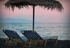 Apus pe plaja - Mood Board by maracoman. Outdoor Furniture, Outdoor Decor, Santorini, Sun Lounger, Greece, Board, Home Decor, Pictures, Beach