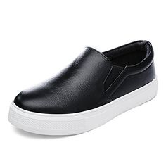 Comfort shoesLok Fu shoes womenCasual womens shoesPlatform shoes thick end of Korean womens shoesSpring and fall flatbottom shoesB Foot length233CM92Inch * ON SALE Check it Out