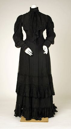 Mourning Dress 1905 The Metropolitan Museum of Art