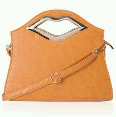 Ladies Handbag with Lip Shaped Handles   eBay