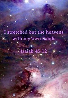 Isiah 45:12