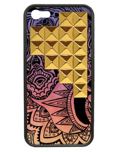Free Spirit Gold Studded Pyramid iPhone 5/5s case