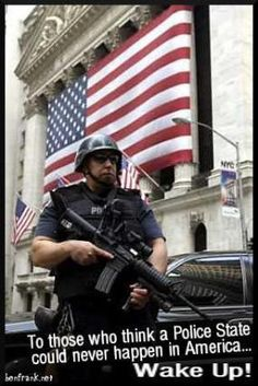 Police state.