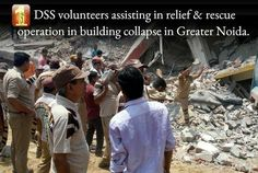 Taking directions from Saint Dr. Gurmeet Ram Rahim Singh ji Insan, volunteers of #DeraSachaSauda are trained to rehabilitate the ravaged area. Dera Sacha Sauda acts like a balm on every such injury upon mankind. #DisasterRelief #ReliefProgramsByDSS #DisasterReliefWorks #HumanityFirst #SaintDrMSG #SaintDrGurmeetRamRahimJi #BabaRamRahim #ShahSatnamJiGreeenSWelfareForce